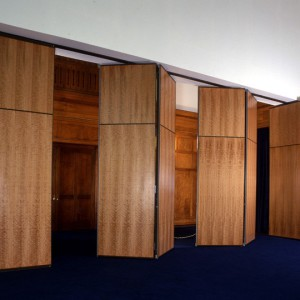 Wanders Acoustic Walls