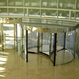 Boon Edam Tournex Revolving Door