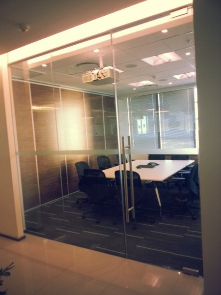 Frost Glasswall Frameless Stacking Glasswalls Frost